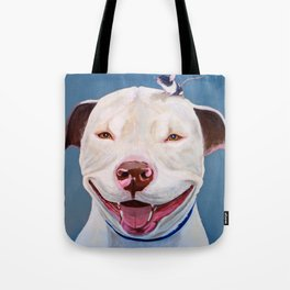 Pit and Mouse Tote Bag