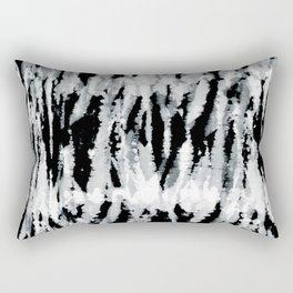 BW Shibori Z Rectangular Pillow