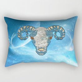 Zodiac sign aries Rectangular Pillow
