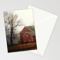 the red barn Stationery Cards