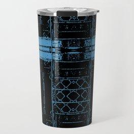 Roseanne - Wellman Plastics - stripes Travel Mug