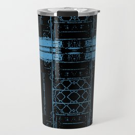 Roseanne - Wellman Plastics - stripes Travel Mug