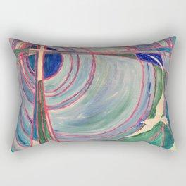 Cross and Dove Rectangular Pillow