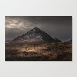 The Buachaille Dusk Canvas Print