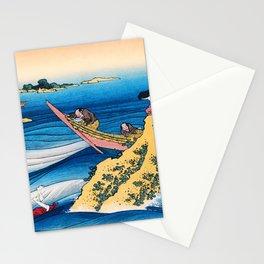 12,000pixel-500dpi -Katsushika Hokusai - The Illustrations To 100 Poems By 100 Poets, Sangi Takamura Stationery Cards