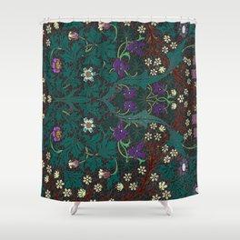 Blackthorn - William Morris Shower Curtain