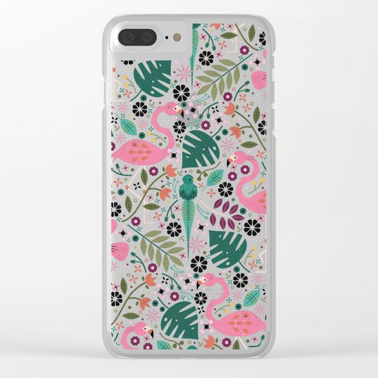 Spirit of the Jungle Clear iPhone Case