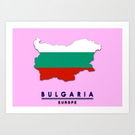 Bulgaria - Europe Art Print
