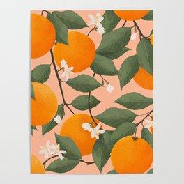 fresh citrus Poster