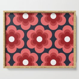 Sweet Pea Serving Tray