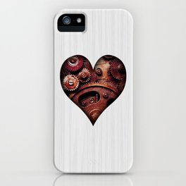 Steampunk Ace - Heart iPhone Case