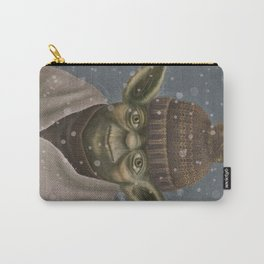 Christmas Yoda Carry-All Pouch