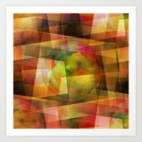 geo Art Prints featuring Geo by Christine baessler