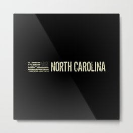 Black Flag: North Carolina Metal Print