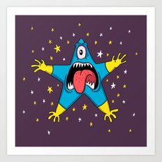 Monstar Art Print