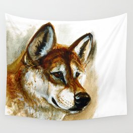 Dingo realistic (c) 2017 Wall Tapestry