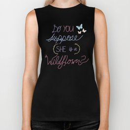 Are you a Wildflower? Biker Tank