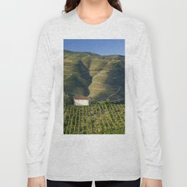 A chapel among vineyards Long Sleeve T-shirt