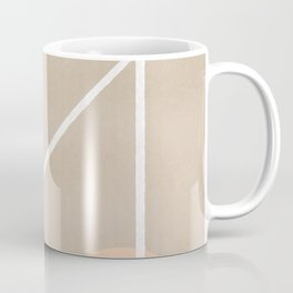Behind - Earth colors simple minimalist art Coffee Mug