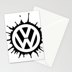 Icon splat Stationery Cards
