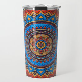 Hippie mandala 73 Travel Mug
