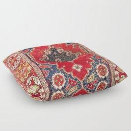 Transylvanian Manisa West Anatolian Niche Carpet Print Floor Pillow