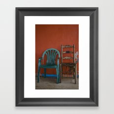 LONELY CHAIRS #6 Framed Art Print