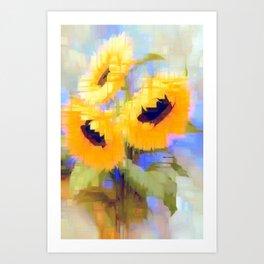 Flower 9235 Art Print