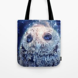 Space Owl Tote Bag