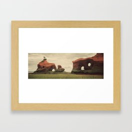 Sculpted by the Tides Framed Art Print