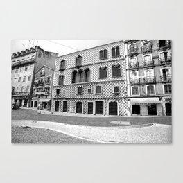 LISBON - CASA DOS BICOS Canvas Print