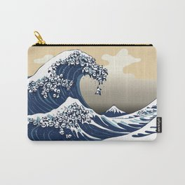 The Great Wave of Pandas Carry-All Pouch