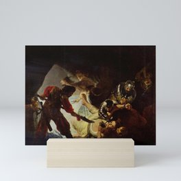 Rembrandt - The Blinding of Samson Mini Art Print