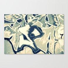 GRAFFITI 3 - CROSS/PROCESS Canvas Print