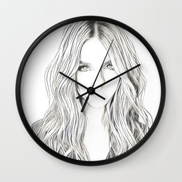 """""""Not About Her"""" Wall Clock"""