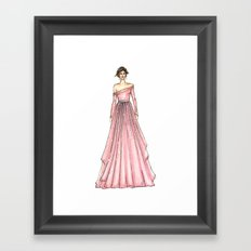 Taliya (PaperDoll) Framed Art Print