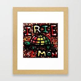 Ire Mon Framed Art Print