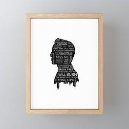 Jim Moriarty  - Sherlock Framed Mini Art Print