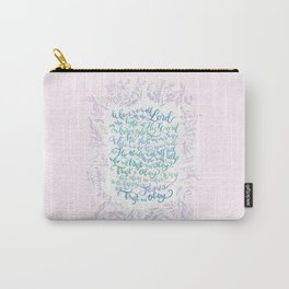 Trust and Obey - Hymn Carry-All Pouch