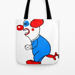 Not So Funny Now Tote Bag