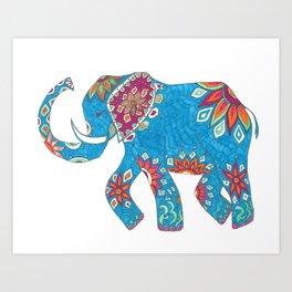 Sacred Elephant Art Print