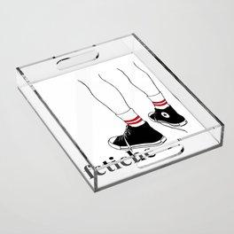 fetiche #1 (white) Acrylic Tray