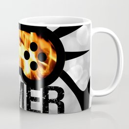 Gamer Flames BNW Coffee Mug