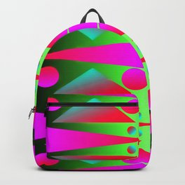 Light, dots, gradients and pattern ... Backpack