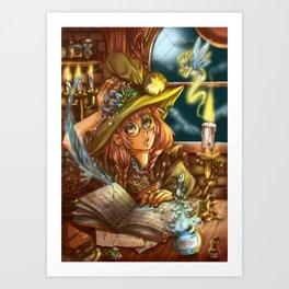 Mischievious Magic Art Print