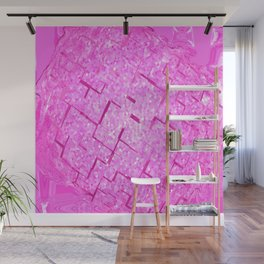 Pink be the world Wall Mural