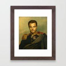 Leonardo Dicaprio - replaceface Framed Art Print