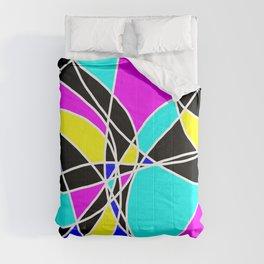 Randomly Retro Purple Comforters