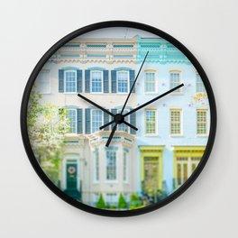 Georgetown neighborhood, Washington DC Wall Clock