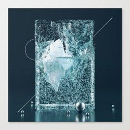 Iceberg container Canvas Print